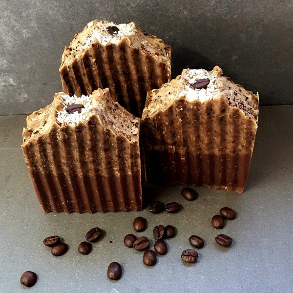 Cocoa Coffee and Vanilla Natural Soap 120g