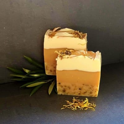 Lemongrass and Mandarin Natural Soap 120g