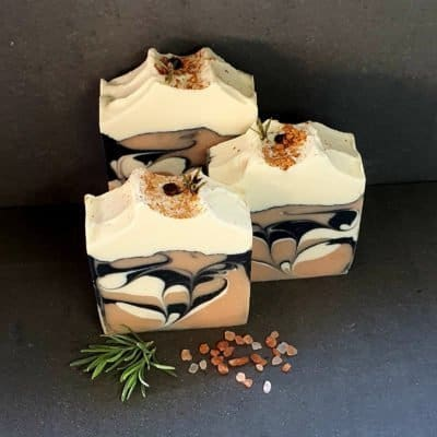 Rose Geranium and Lavender Natural Soap 120g