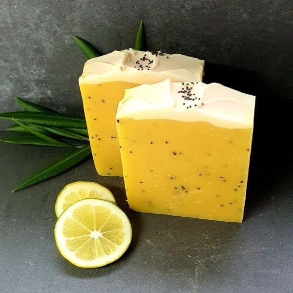Lemon Meringue Pie 100% Natural Soap