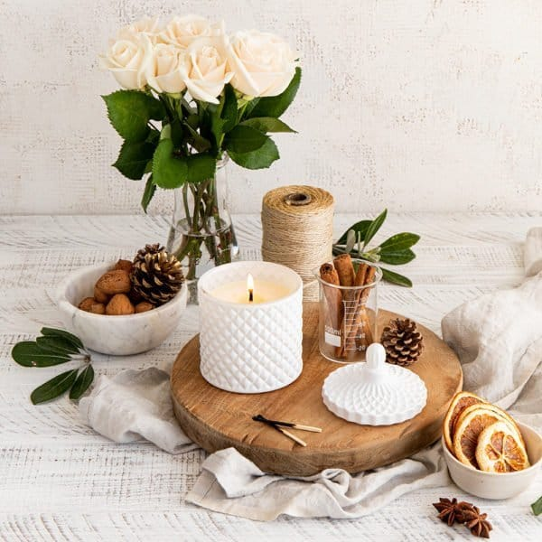 Classic French Organic Coconut and Soy Candle 230g