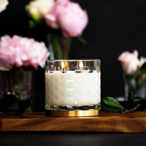 Luxury Organic Coconut and Soy Candle 360g