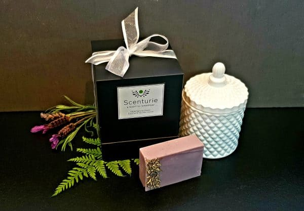 Deluxe Candle and Soap Gift Set