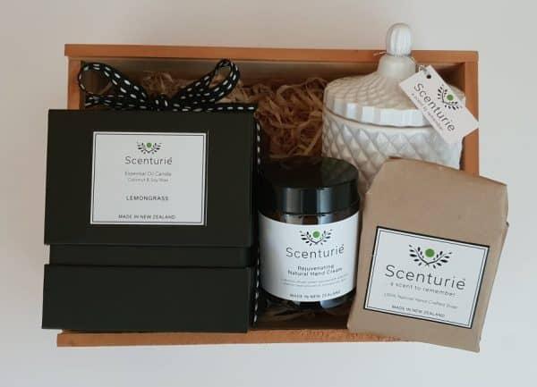 Gift Set Candle, Handcream, soap