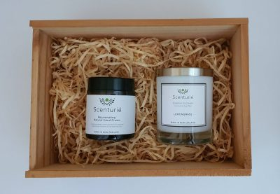 Hand Cream and Candle Gift Set