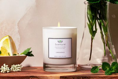 Essential oil candle